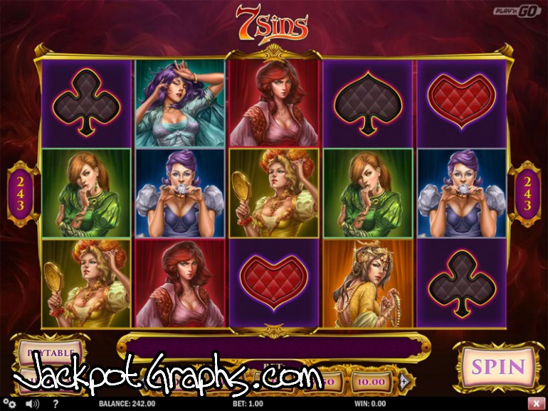 7 Sins - Rizk Online Casino