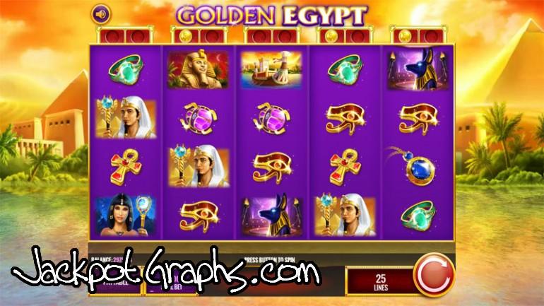 Golden egypt slot machine online