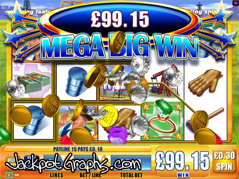 Gusher slot machine game ip casino spa menu