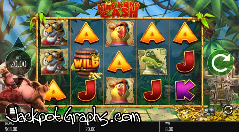 Slot king kong cash online